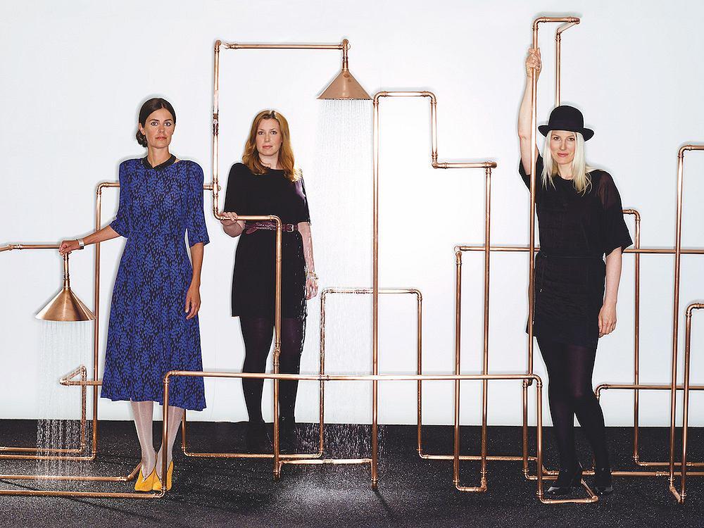 Sofia Lagerkvist, Charlotte von der Lancken, Anna Lindgren
