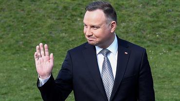 Prezydent Andrzej Duda na Wawelu w Krakowie w 10 . rocznice katastrofy smoleskiej