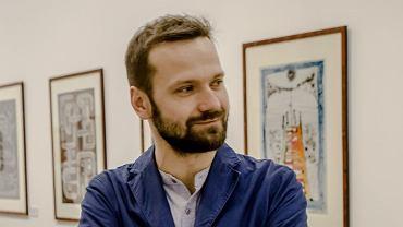 Piotr Micek, dyrektor wałbrzyskiej Galerii Sztuki BWA