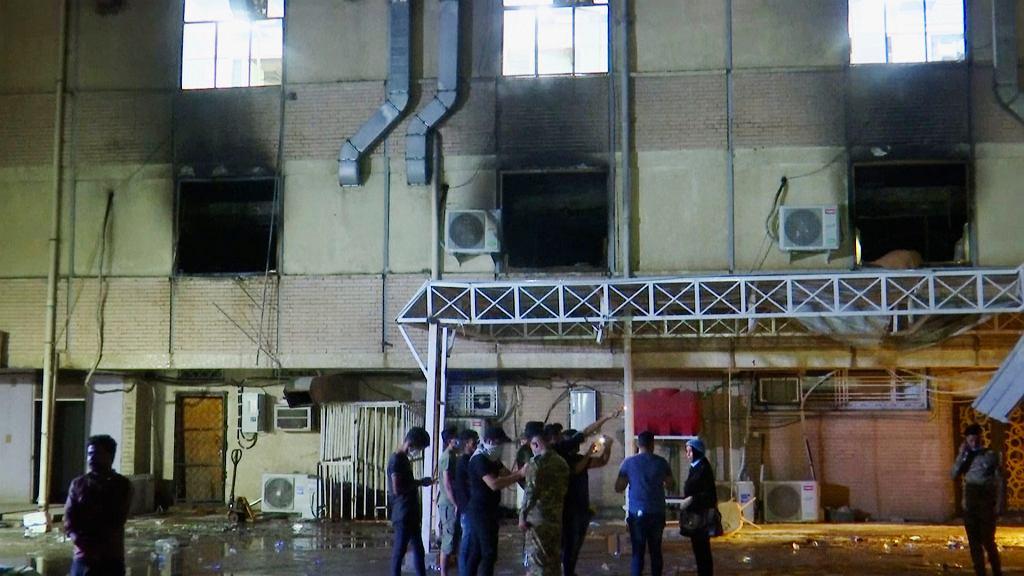 Irak. Wybuch zbiornika z tlenem w szpitalu covidowym