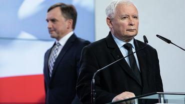 Zbigniew Ziobro, Jarosław Kaczyński
