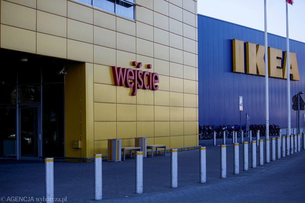 Jeden z sklepów IKEA w Polsce