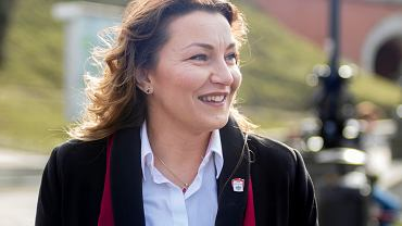 Posłanka Monika Pawłowska (na zdjęciu) nie słyszała, żeby Andrzej Duda nazywał osoby LGBT ideologią