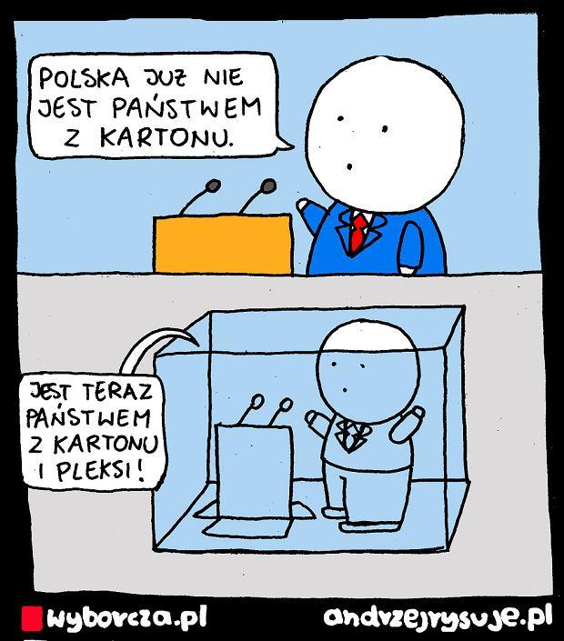 Andrzej Rysuje | KARTON - Andrzej Rysuje | KARTON -
