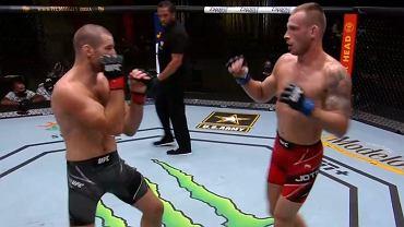 Krzysztof Jotko podczas gali UFC