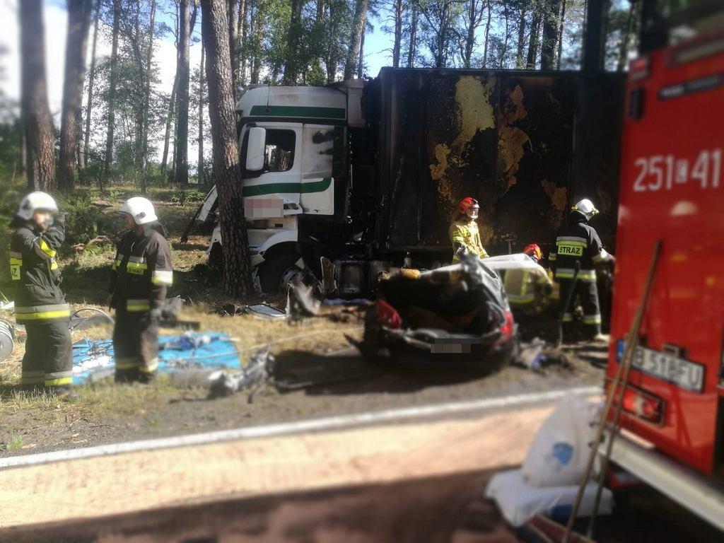 Tragiczny wypadek na drodze w miejscowości Emilianowo