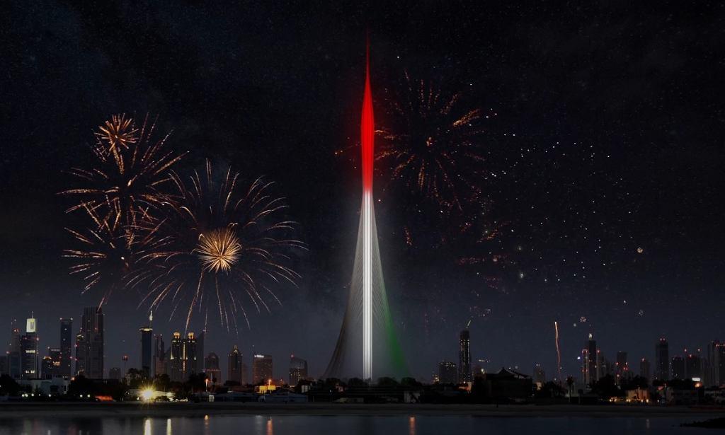 Dubai Creek Tower - wizualizacja