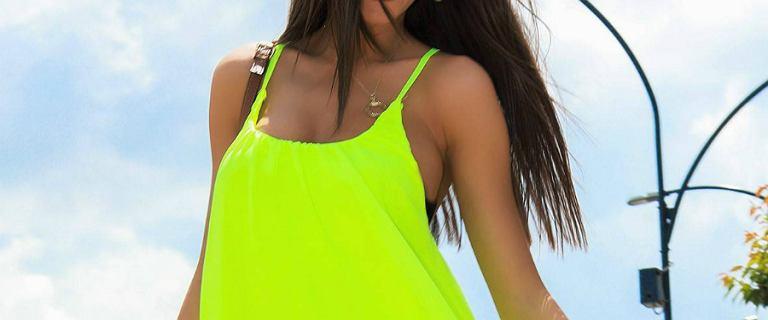 Neonowe ubrania to hit! Szukamy najładniejszych w sieci