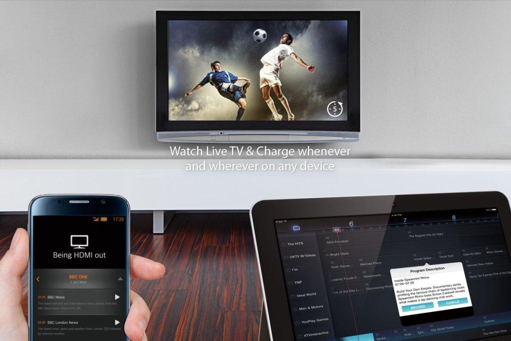 Tivizen pozwala cieszyć się telewizją naziemną lub kablową na urządzeniach mobilnych