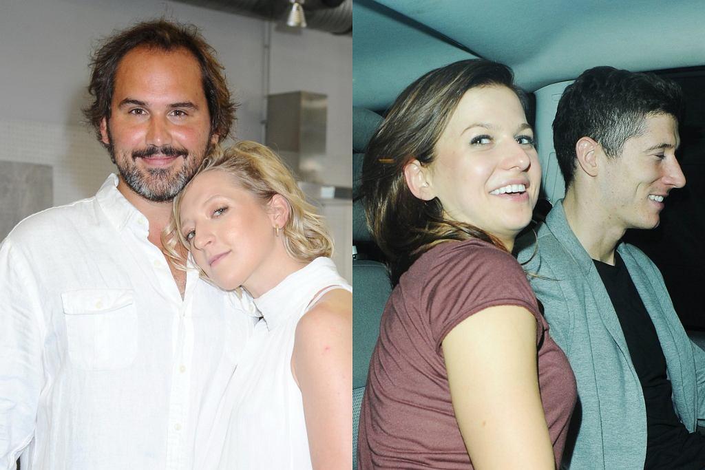 Lara Gessler i Piotr Szeląg, Anna i Robert Lewandowscy