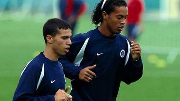 Selim Benachour i Ronaldinho