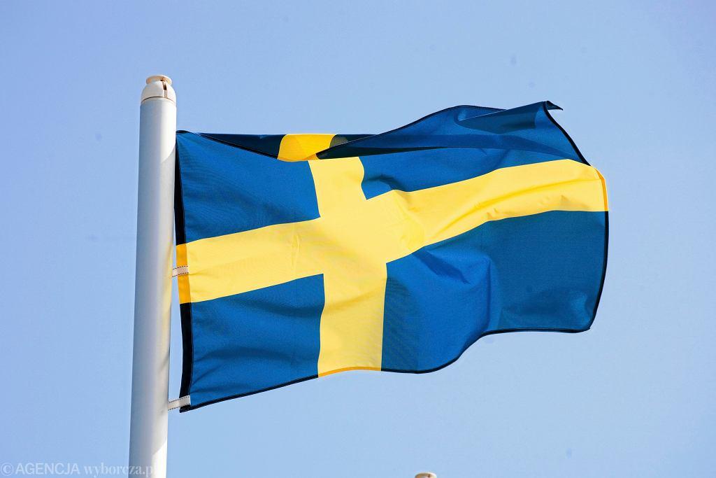 Flaga Szwecji (zdjęcie ilustracyjne)