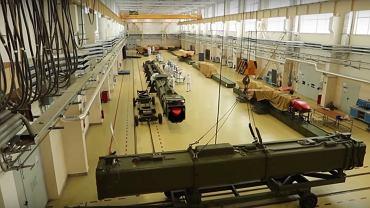 Zdjęcie pokazujące rzekome 'atomowe' rakiety Buriewiestnik (fot.) MO Rosji