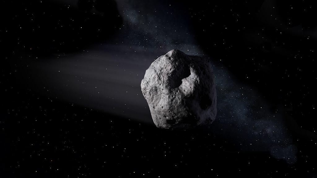 Asteroida. Zdjęcie ilustracyjne