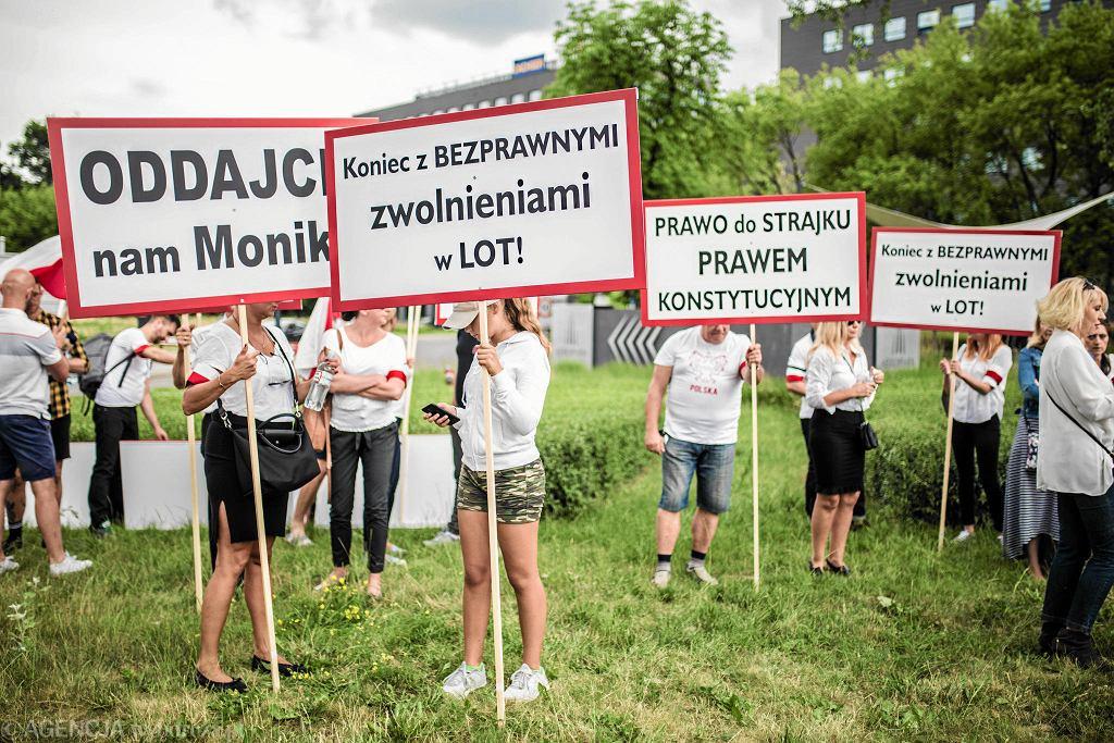 Dzisiaj odbędzie się strajk pracowników PLL LOT
