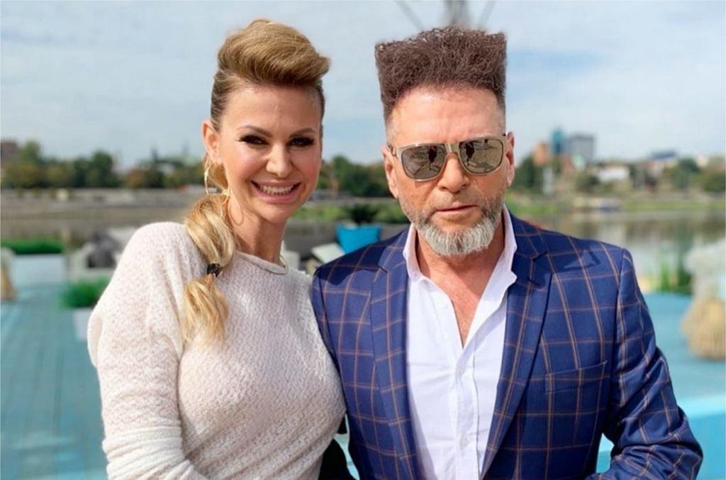 Krzysztof Rutkowski z żoną