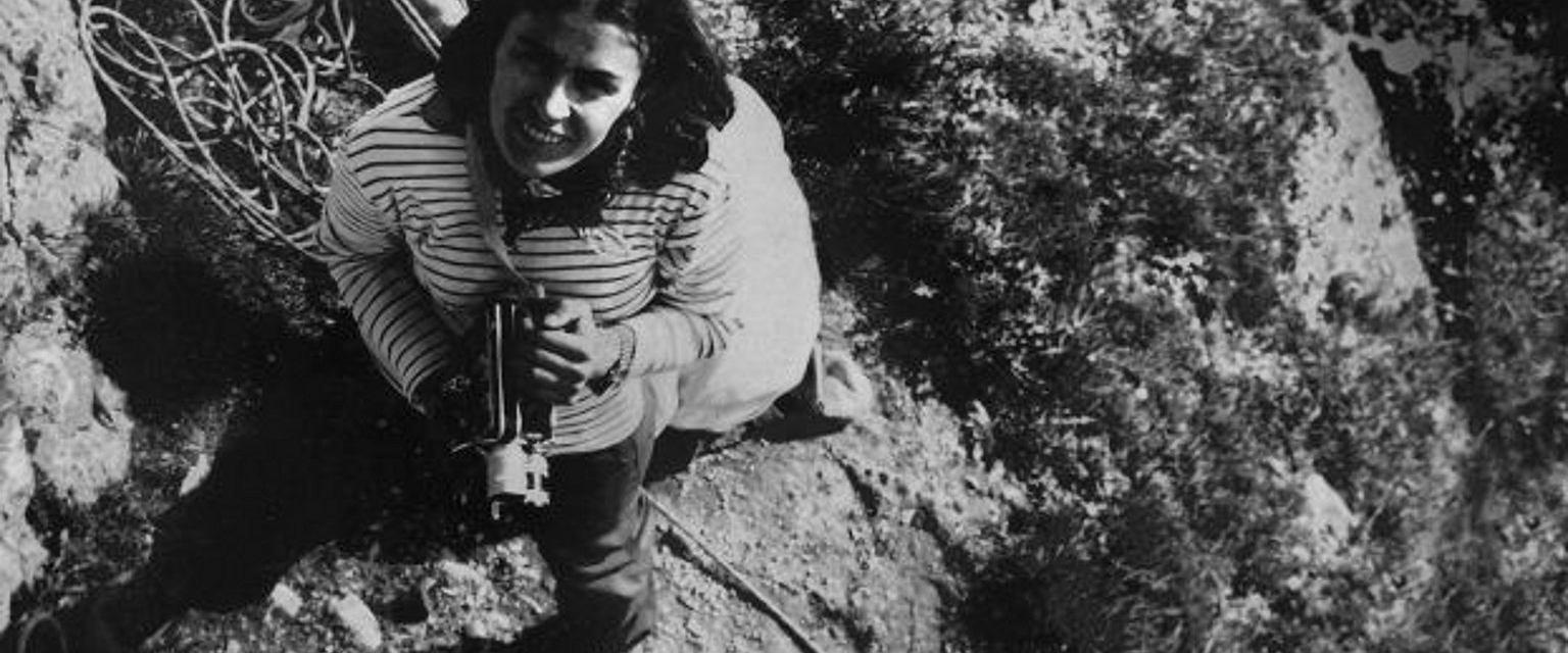 Wanda Rutkiewicz w górach (fot. z archiwum Eugeniji Murauskiené)