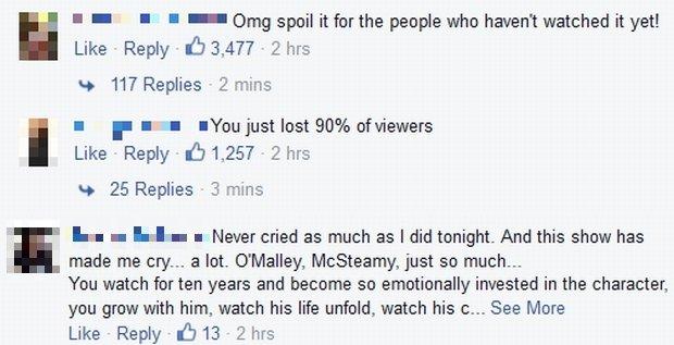 Reakcje fanów serialu 'Chirurdzy' na śmierć bohatera