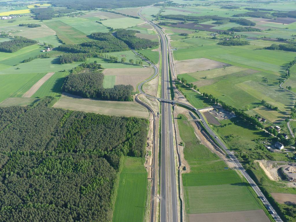 Oddany do użytku fragment drogi ekspresowej S7 Nidzica-Napierki