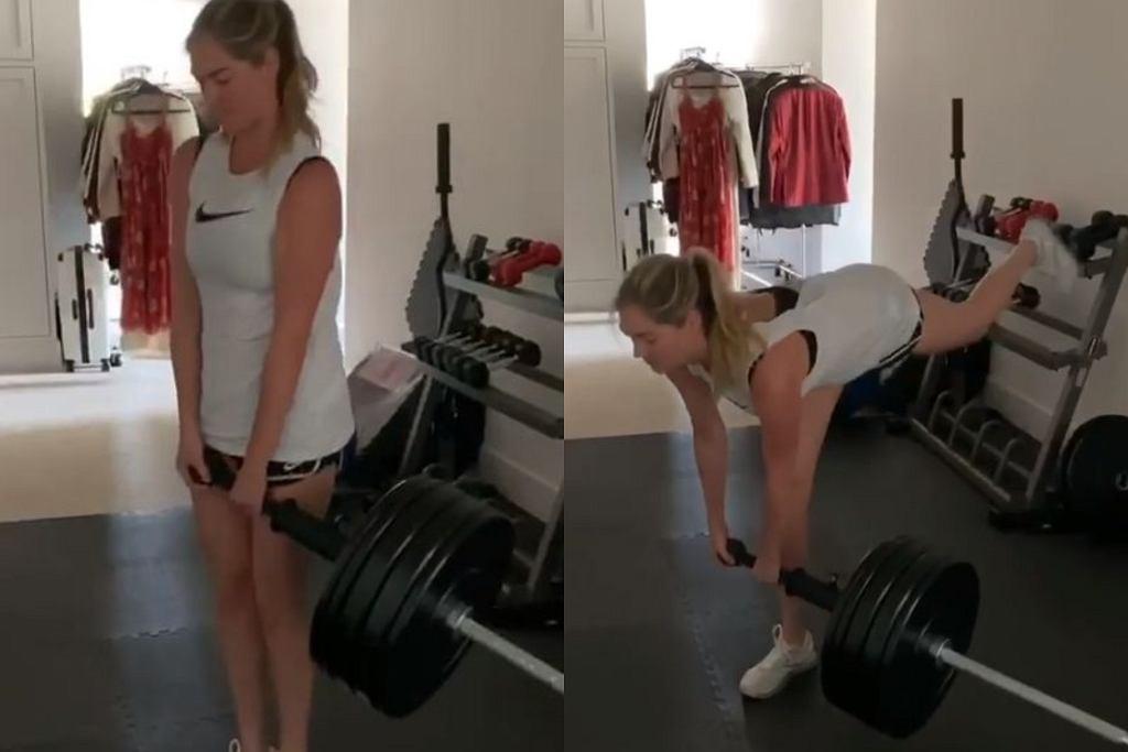 Ulubione ćwiczenie Kate Upton