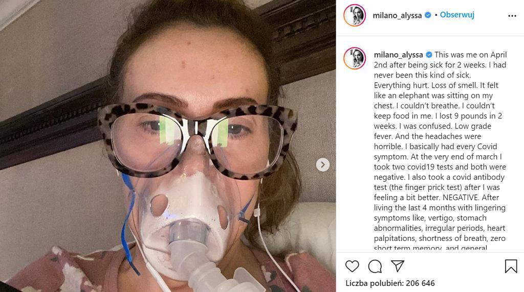 Gwiazda Hollywood pokazała, jak koronawirus zniszczył jej włosy. 'Proszę, weźcie to na poważnie'