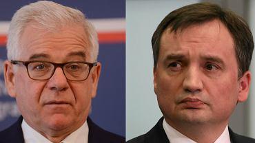 Jacek Czaputowicz i Zbigniew Ziobro