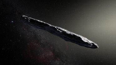 """Pamiętacie dziwną Oumuamuę? Nowe badanie sugeruje, że nie był to statek obcych, a kawałek wodorowego """"lodu"""""""