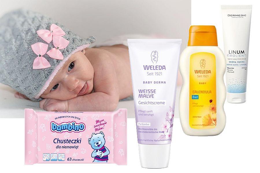 Jakie kosmetyki dla noworodka?