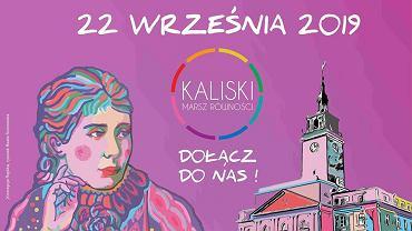 Plakat promujący pierwszy Marsz Równości w Kaliszu - z Marią Konopnicką, która w Kaliszu mieszkała