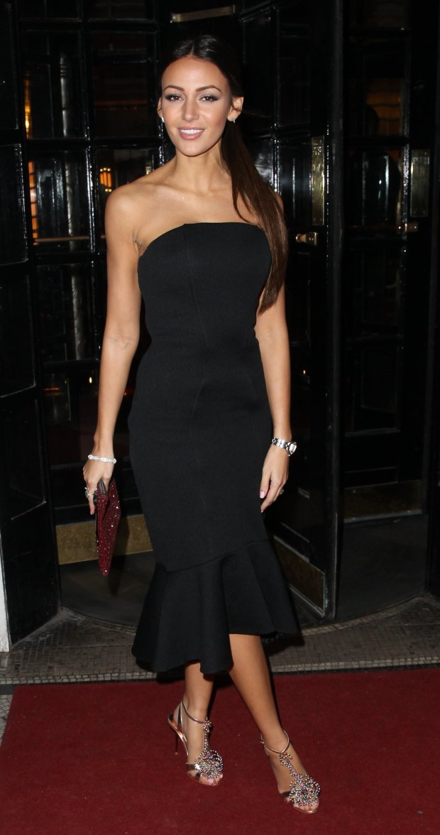 Picture Shows: Michelle Keegan February 10, 2015 Celebrities attend the British Heart Foundations Roll Out The Red Ball at the Park Lane Hotel in London, UK. Non-Exclusive WORLDWIDE RIGHTS Pictures by : FameFlynet UK  2015 Tel : 44 (0)20 3551 5049 Email : infofameflynet.uk.com