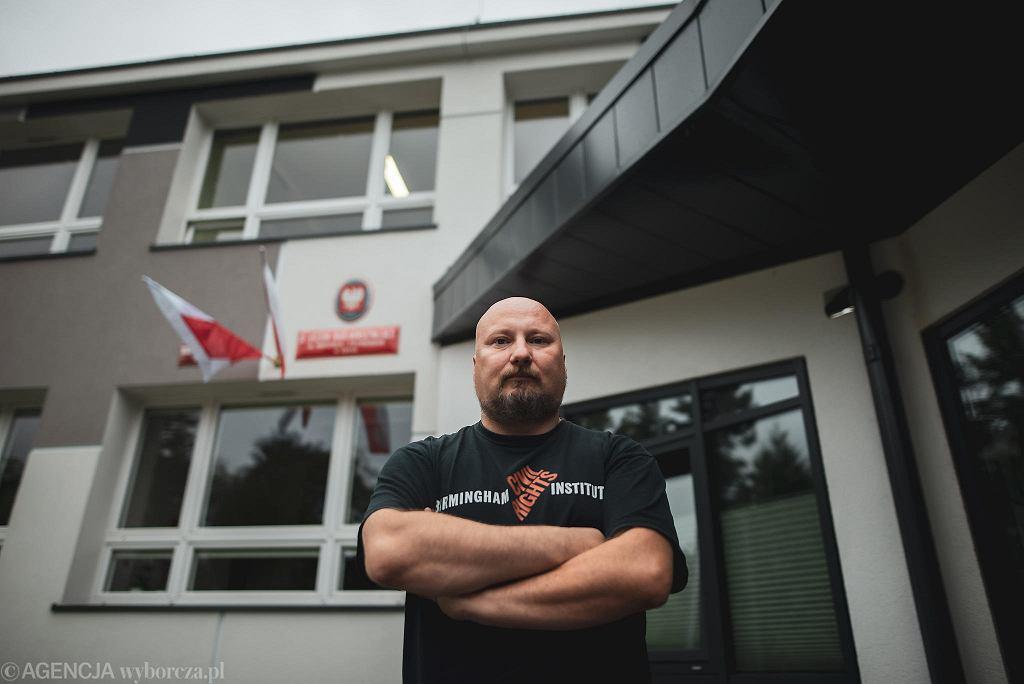 Arkadiusz Ordyniec, nauczyciel historii w IX LO w Gdyni
