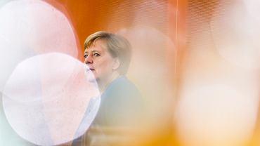 Niemcy. Kanclerz Angela Merkel na spotkaniu rządowego Gabinetu Klimatycznego.