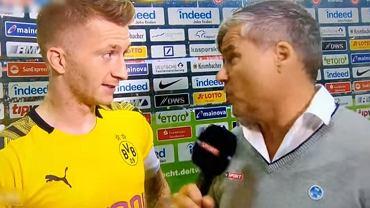 Marco Reus stracił cierpliwość podczas pomeczowego wywiadu