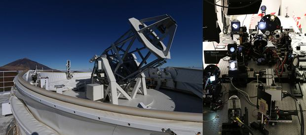Teleskop GREGOR po modernizacji