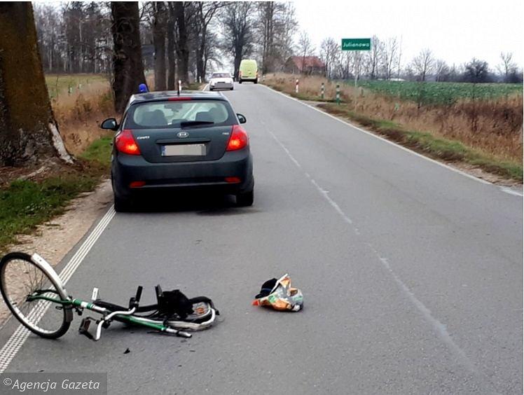 Policja szuka świadków wypadku w Prabutach
