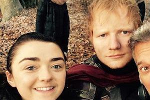 Ed Sheeran w 'Grze o Tron'