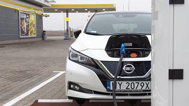 Stacja ładowania samochodu elektrycznego