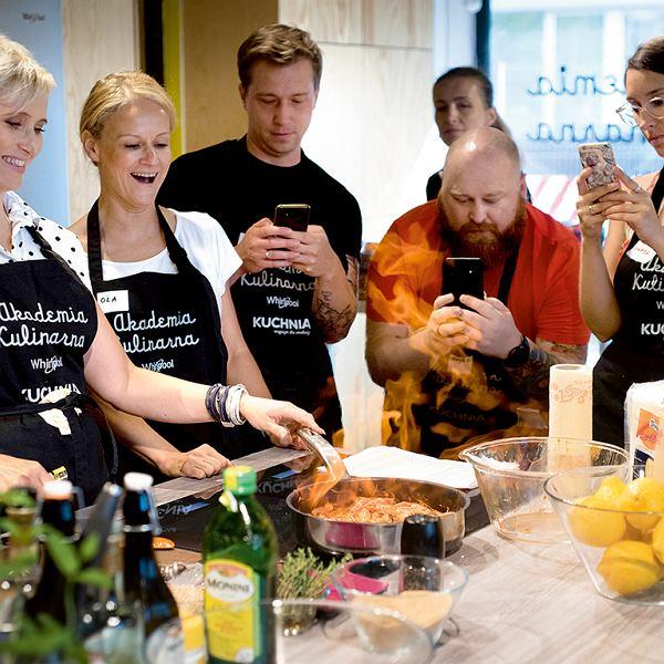 'Śliwki po włosku', czyli warsztaty kulinarne magazynu KUCHNIA i Akademii Kulinarnej Whirlpool