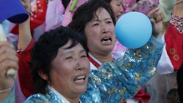 Północnokoreańska parada z okazji 70. rocznicy powstania Partii Pracy