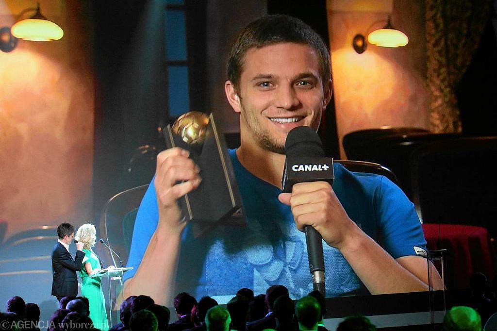 Bartosz Bereszyński otrzymał nagrodę dla odkrycia sezonu 2012/13