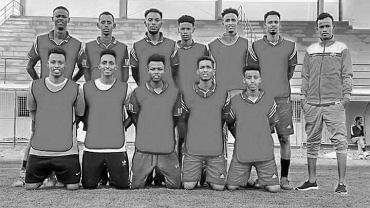 Piłkarze klubu JCCI FC z Somalii