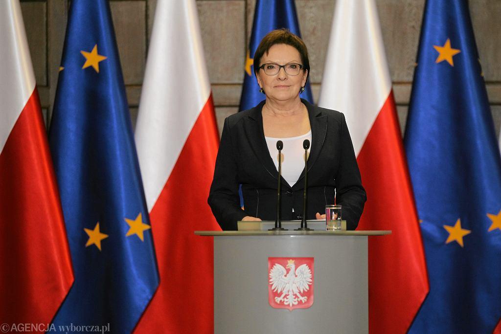Ewa Kopacz w Szczecinie