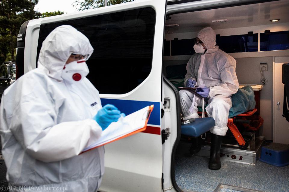 Szpital w czasie epidemii koronawirusa w Polsce