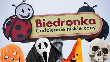 Halloween w Biedronce. Dekoracje i stroje w atrakcyjnych cenach