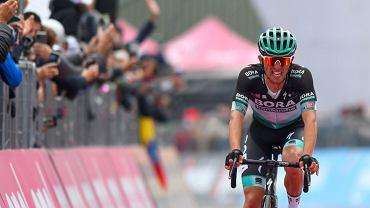 Rafał Majka na mecie 15. etapu Giro d'Italia w Piancavallo