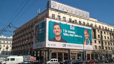 Reklama banku będzie zdjęta