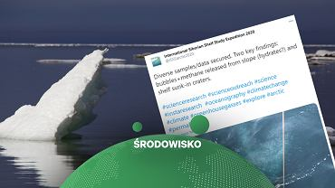 Naukowcy odkryli, że ze złóż na dnie Oceanu Arktycznego zaczął uwalniać się metan.