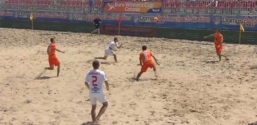 KP Łódź - Lokomotiv Moskwa 2:5