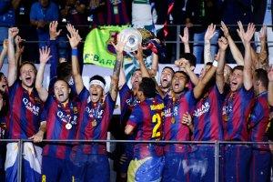 Liga Mistrzów. Barcelona świętuje zdobycie potrójnej korony [TRANSMISJA]