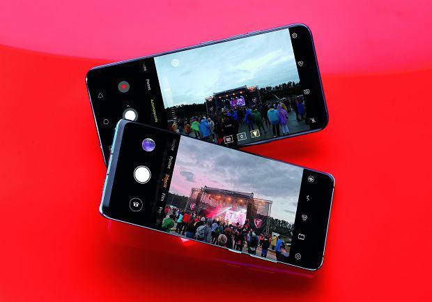 LG V40 (na górze), Huawei P30 Pro (na dole)